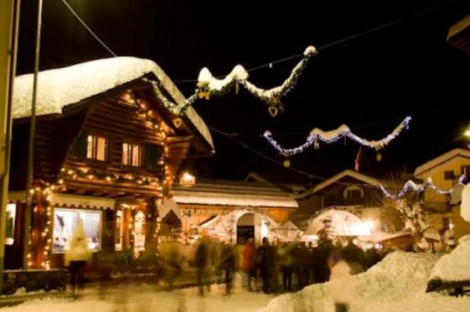 A Courmayeur il 20 dicembre vi aspettano shopping natalizio ed enogastronomia