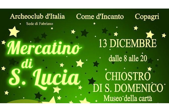 Il 13 dicembre a Fabriano vi aspetta la Fiera di S.Lucia
