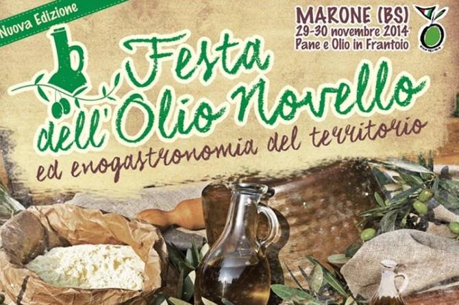 Il 29 e 30 novembre a Marone vi aspetta la Festa dell'Olio Novello