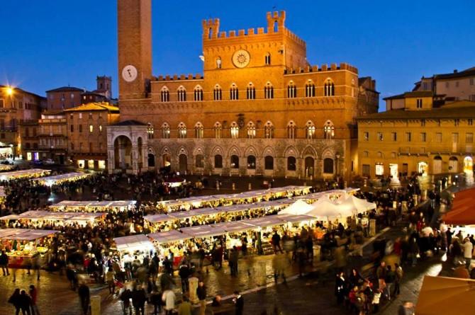 """Il 6 e 7 dicembre a Siena gustate la gastronomia del '300 al """"Mercato del Campo"""""""
