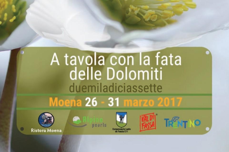 A tavola con la Fata delle Dolomiti: dal 26 al 31 marzo a Moena