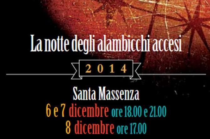 """A Vezzano dal 6 all'8 dicembre vi aspetta """"La notte degli alambicchi accesi"""""""