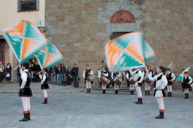 Il 26/05/2012 Banchetto Medievale a Castiglion Fiorentino (AR)