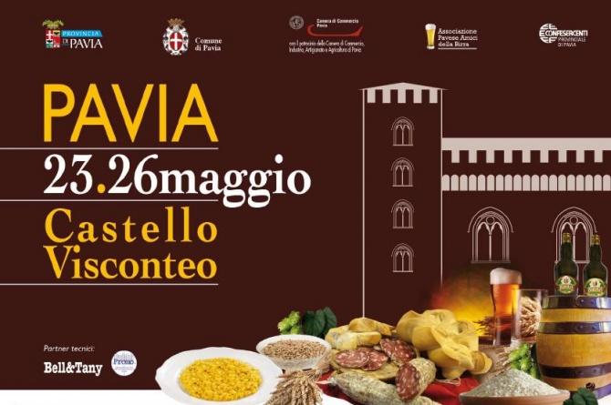 BeerFood: birra, sapori e sensazione del territorio a Pavia dal 23 al 26 maggio