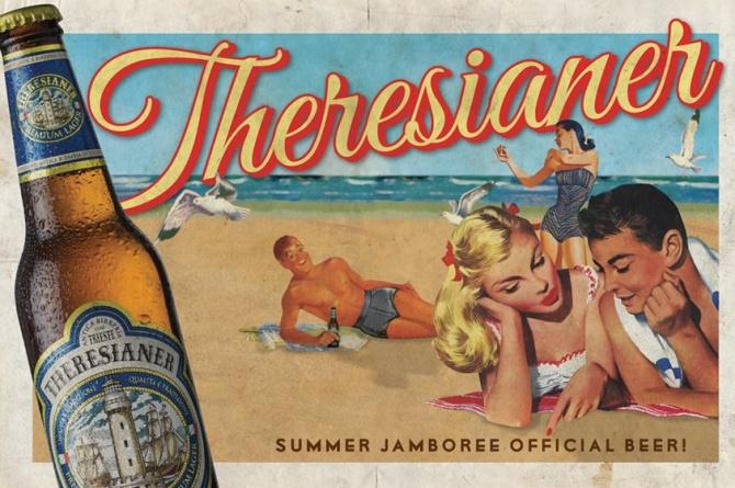 Birra Theresianer protagonista al Summer Jamboree 2014