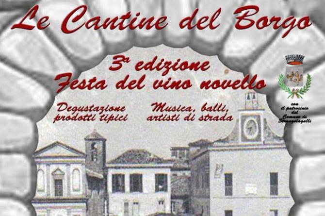 Cantine del Borgo: il 15 novembre il gusto del vino novello è a Strangolagalli