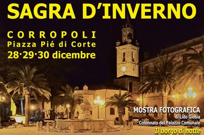 """Dal 28 al 30 dicembre anticipate Capodanno a Corropoli con la """"Sagra d'Inverno"""""""
