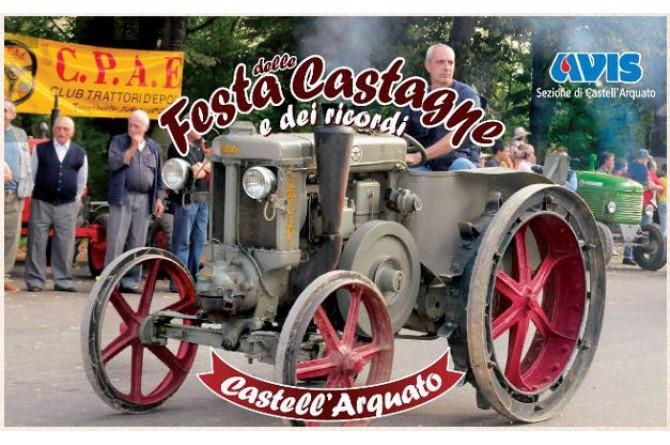 Il 4 e 5 ottobre a Castell'Arquato torna la Festa delle Castagne e dei Ricordi