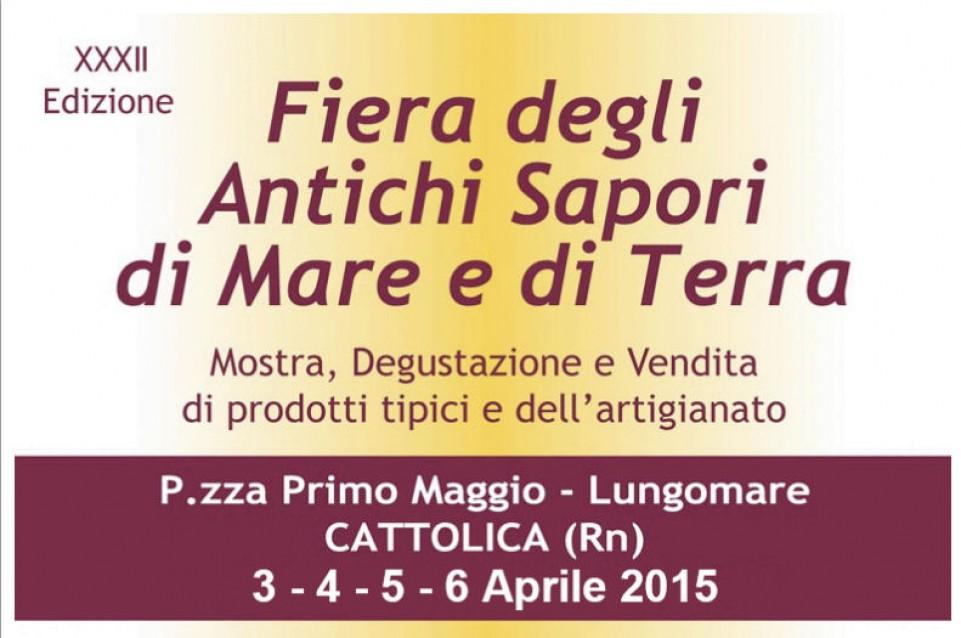 Fiera degli Antichi Sapori di Mare e di Terra: a Cattolica dal 3 al 6 aprile