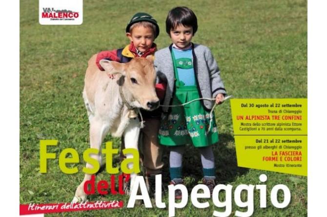 Il 20 ed il 21 settembre a Chiareggio vi aspetta la Festa dell'Alpeggio