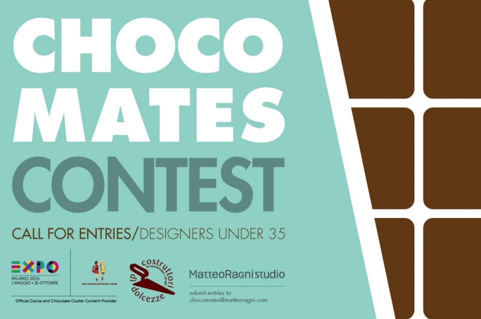 ChocoMates Contest: Costruttori di Dolcezze cerca designer per Expo 2015