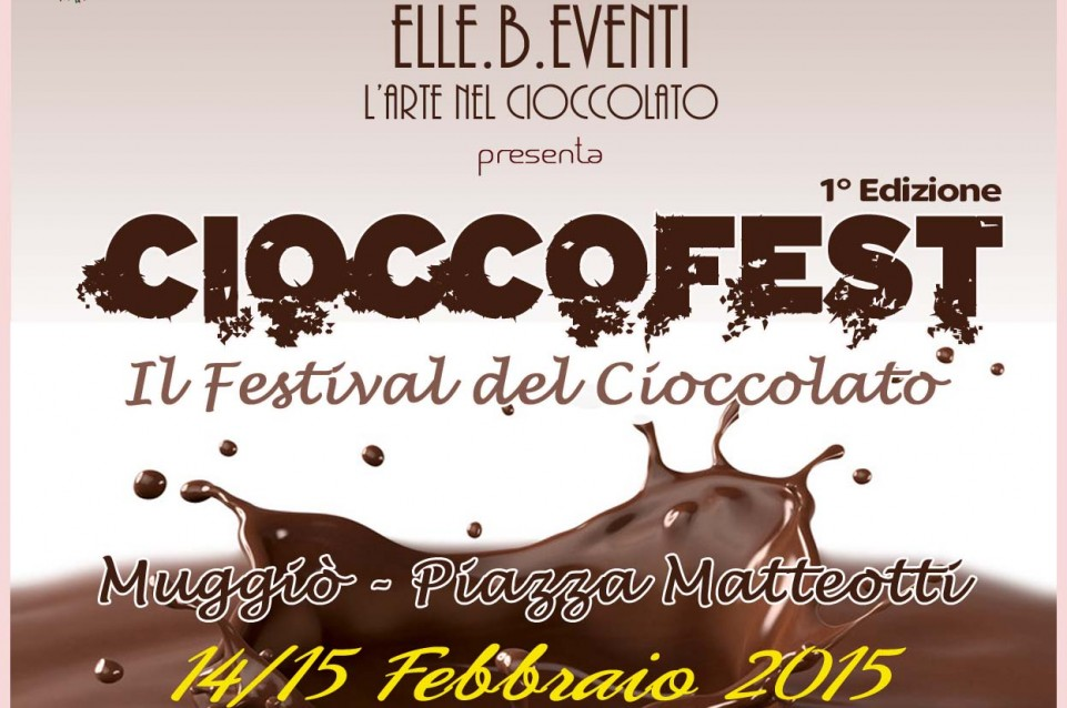 Cioccofest: il 14 e 15 febbraio a Muggiò arriva il Festival del Cioccolato