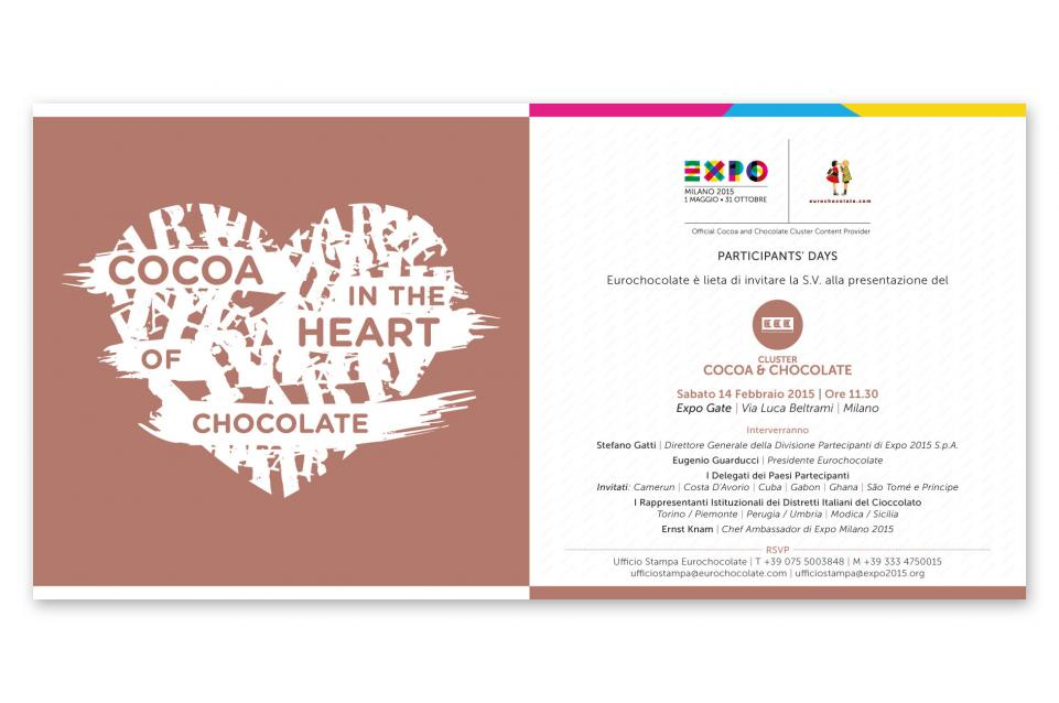 """Cocoa: in the Heart of Chocolate"" - Eurochocolate presenta il Cluster del Cacao e del Cioccolato"