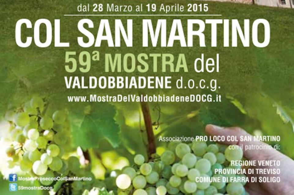 """Dal 29 marzo al 19 aprile a Col San Martino torna la """"Mostra del Valdobbiene docg"""""""