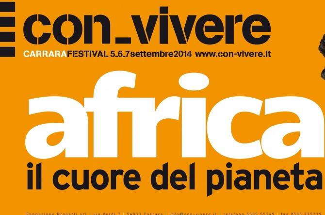 """Dal 5 al 7 settembre al """"Con-vivere Carrara Festival"""" vi aspetta la cucina africana"""