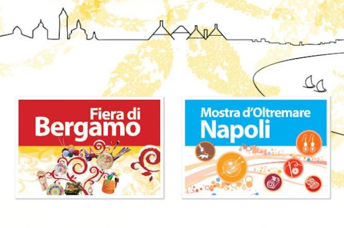Creattiva a Bergamo dal 15 al 17 e a Napoli dal 22 al 24 febbraio