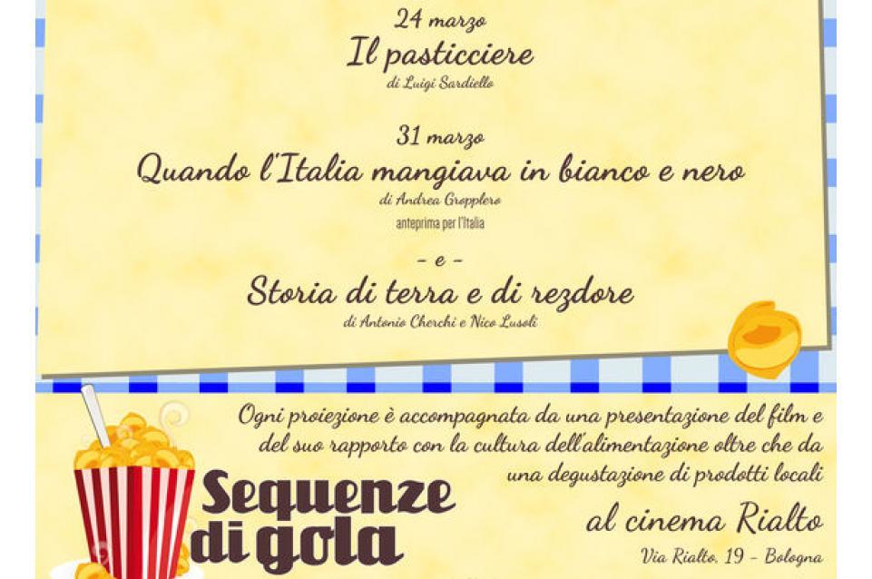 """La cucina al cinema vi aspetta a Bologna con la rassegna """"Sequenze di gola"""""""