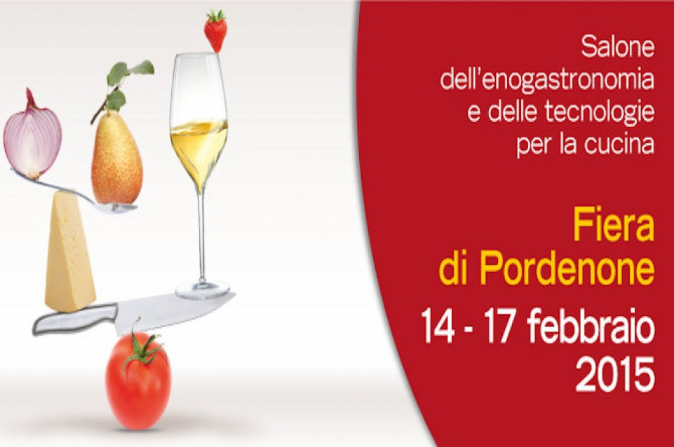 Cucinare: dal 14 al 17 febbraio a Pordenone il salone della gastronomia e delle tecnologie per la cucina