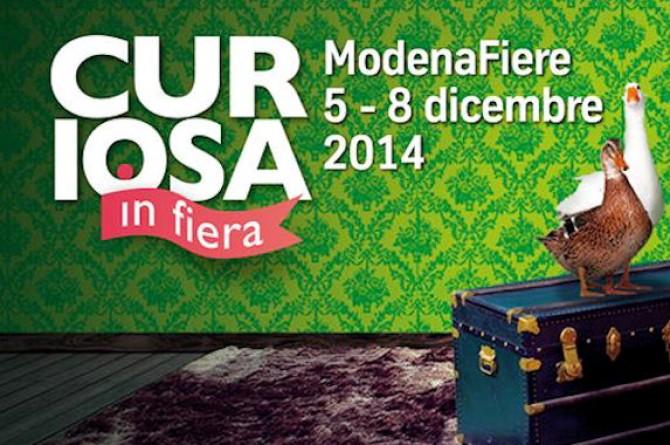 CURIOSA: dal 5 all'8 dicembre a Modena torna la mostra mercato di Natale