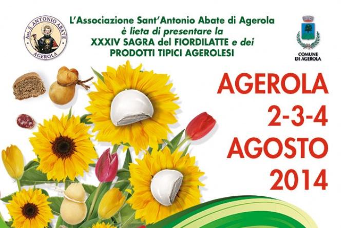 Dal 2 al 4 agosto ad Agerola torna la Sagra del Fiordilatte