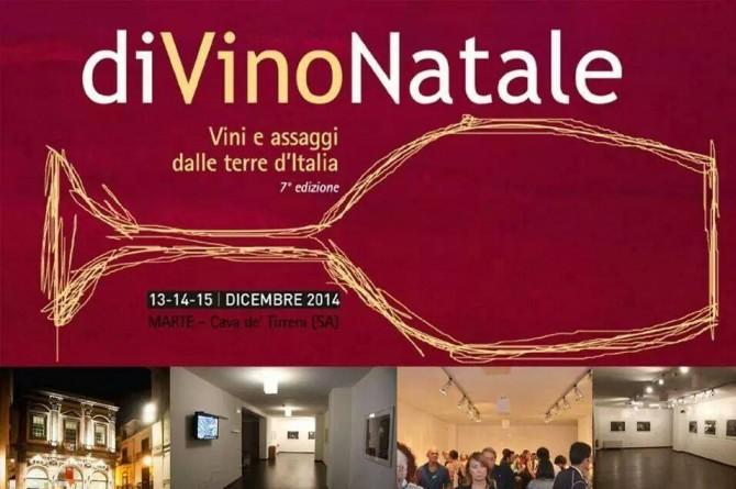 DiVino Natale 2014: assaggi dalle terre d'Italia dal 13 al 15 dicembre a Cava de' Tirreni