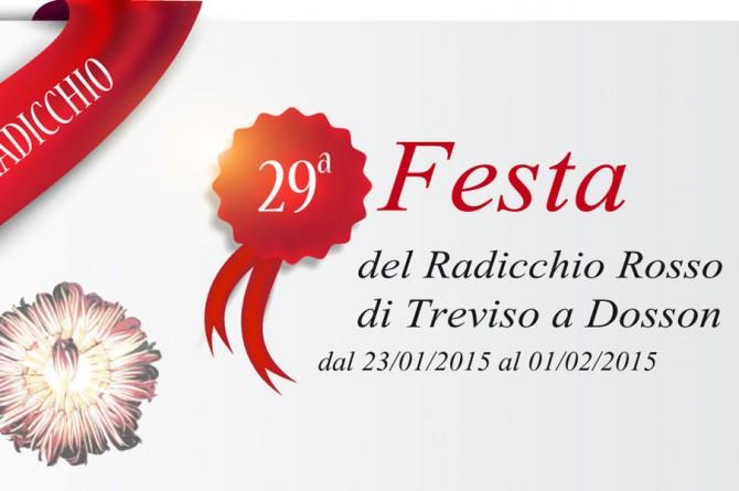 """Dal 23 gennaio all'1 febbraio a Dosson di Casier arriva la """"Festa del Radicchio Rosso di Treviso"""""""