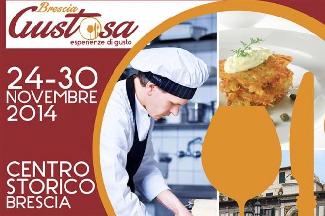 """Dal 24 al 30 novembre l'eccellenza della cucina italiana vi aspetta a """"Brescia Gustosa"""""""