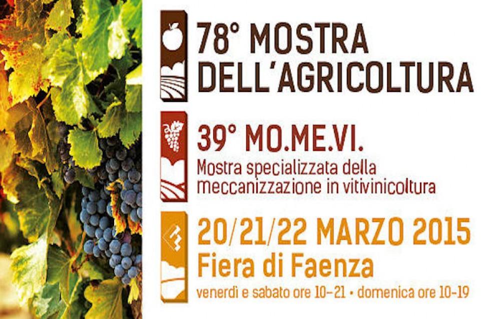 Dal 20 al 22 marzo a Faenza arrivano la 78° edizione della Mostra dell'Agricoltura e il 39° MoMeVi