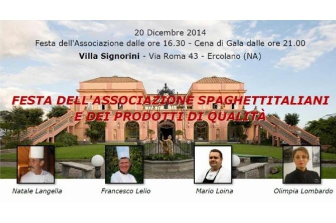 """Il 20 dicembre a Ercolano vi aspetta la """"Festa dell'Associazione Spaghettitaliani"""" per donare un sorriso ai bambini"""