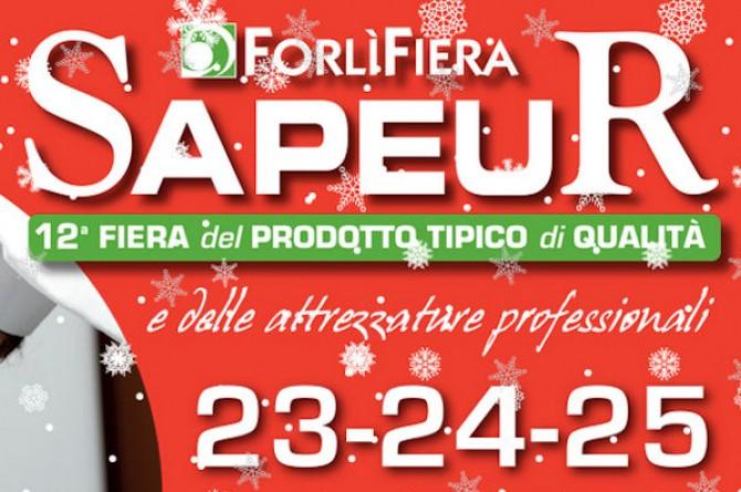 Dal 23 al 25 gennaio a Forlì torna Sapeur: la fiera del prodotto tipico di qualità