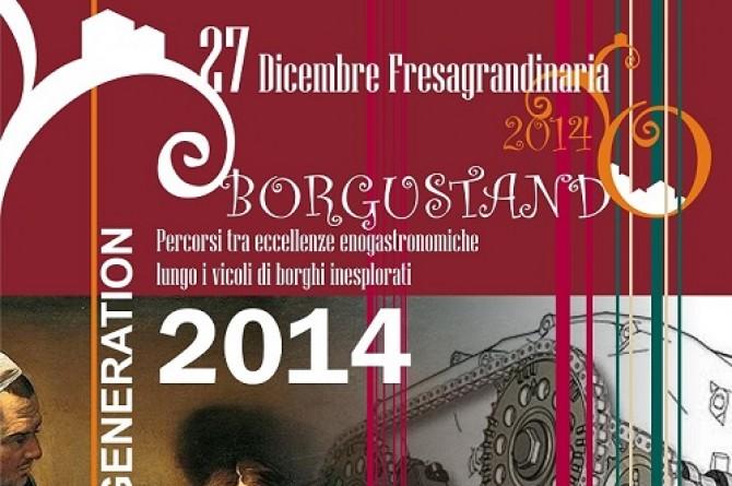 Il 3 gennaio 2015 a Fresagrandinaria vi aspetta Borgustando 2014