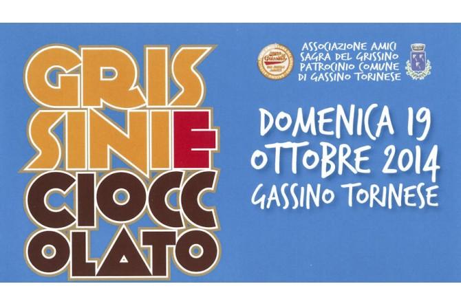 """Il 19 ottobre a Gassino Torinese torna """"Cioccolato e Grissini"""""""