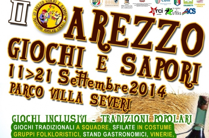 Giochi e Sapori: ad Arezzo dall'11 al 21 settembre tradizione culinaria e storia antica