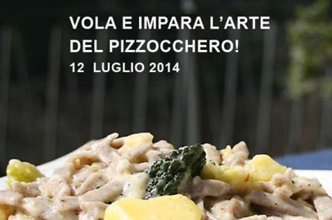 In Valtellina sabato 12 luglio Fly + cooking class: per cucinare e spiccare il volo