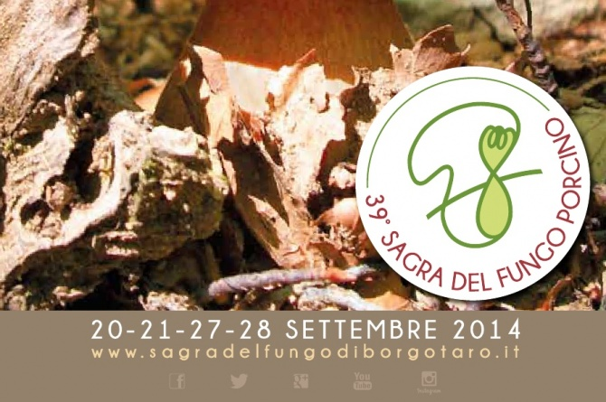 Gli ultimi due weekend di settembre vi aspetta la Fiera del Fungo di Borgotaro