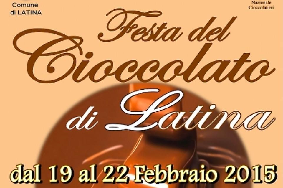 """Dal 19 al 22 febbraio a Latina torna la """"Festa del Cioccolato"""""""