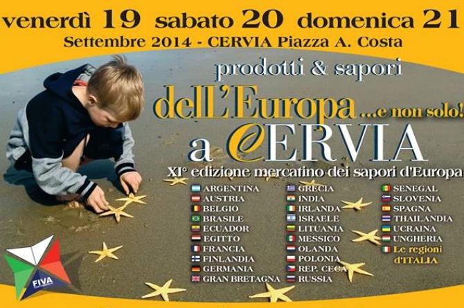 Mercato Europeo: i sapori dell'Europa dal 19 al 21 settembre a Cervia