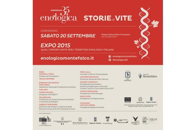 Dal 19 al 21 settembre a Montefalco vi aspetta Enologica