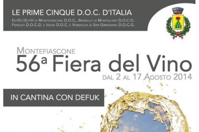 Dal 2 al 17 agosto a Montefiascone torna la Fiera del Vino