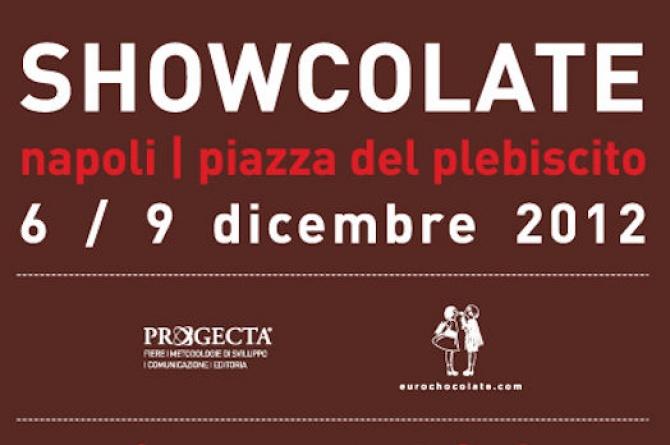 Napoli dal 6 al 9 dicembre sarà Showcolate! La tua passione in centro