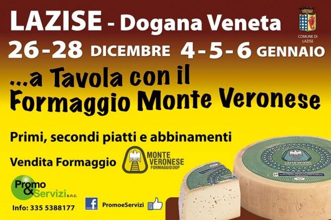 Fra Natale e Capodanno a Lazise vi aspetta il gusto del Formaggio Monte Veronese DOP