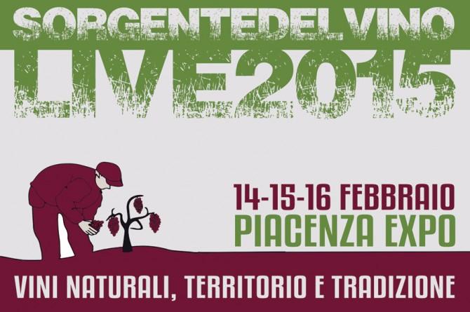 Dal 14 al 16 febbraio a Piacenza Expo vi aspetta Sorgentedelvino: l'evento dedicato ai vini naturali