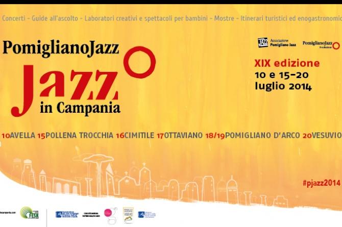 Dal 10 al 20 luglio Pomigliano Jazz Festival: musica, archeologia ed enogastronomia