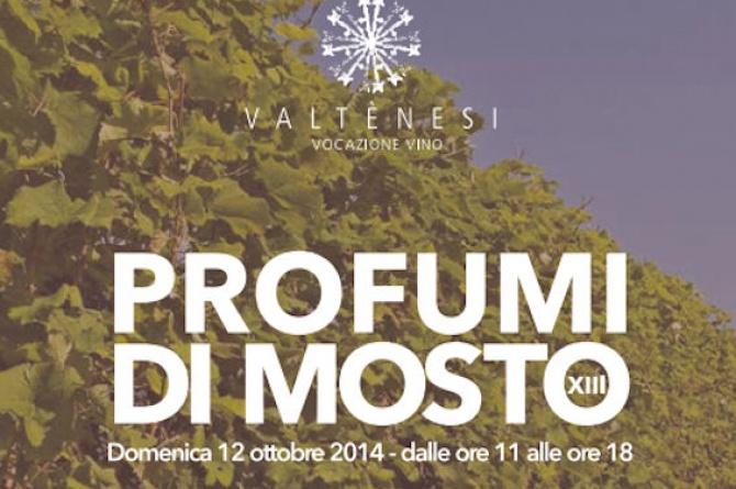 """La quattordicesima edizione di """"Profumi di Mosto"""" vi aspetta il 12 ottobre sul Lago di Garda"""