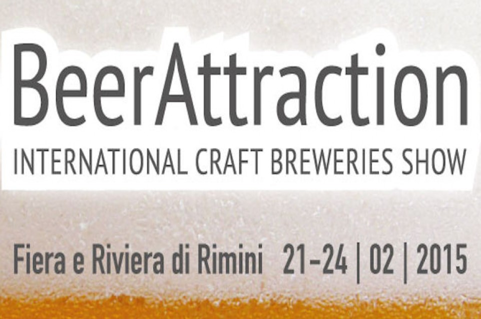 """Dal 21 al 24 febbraio a Rimini vi aspetta  """"Beer Attraction"""": la festa dei birrifici indipendenti"""