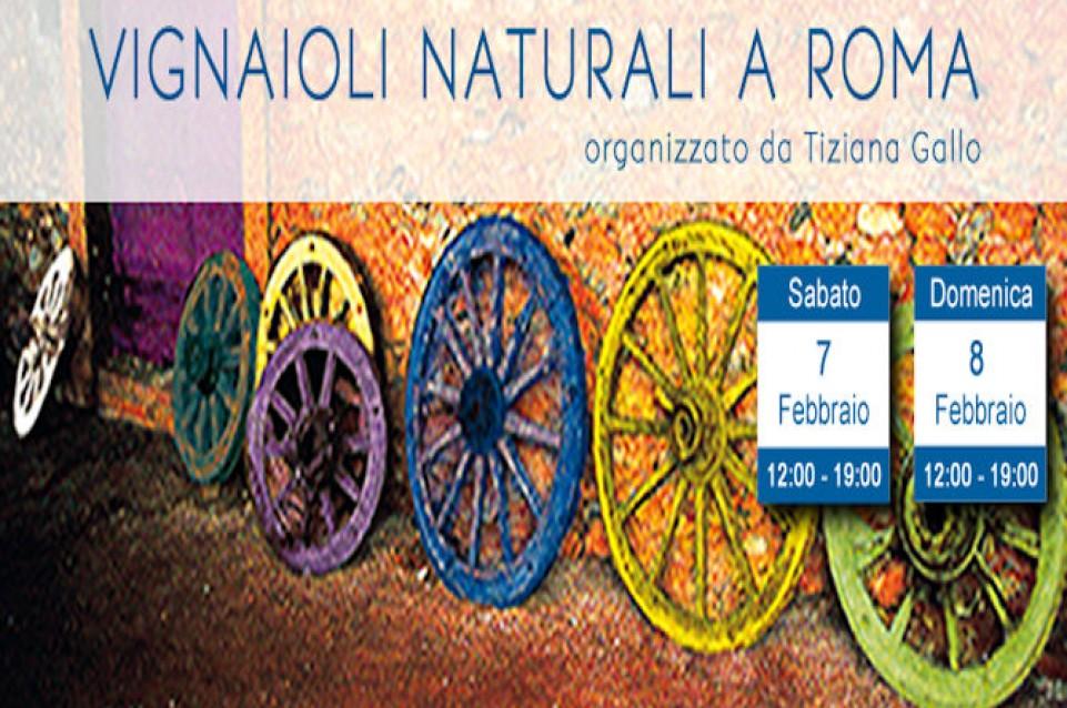 """Il 7 e 8 febbraio a Roma arriva la settima edizione di """"Vignaioli Naturali"""""""