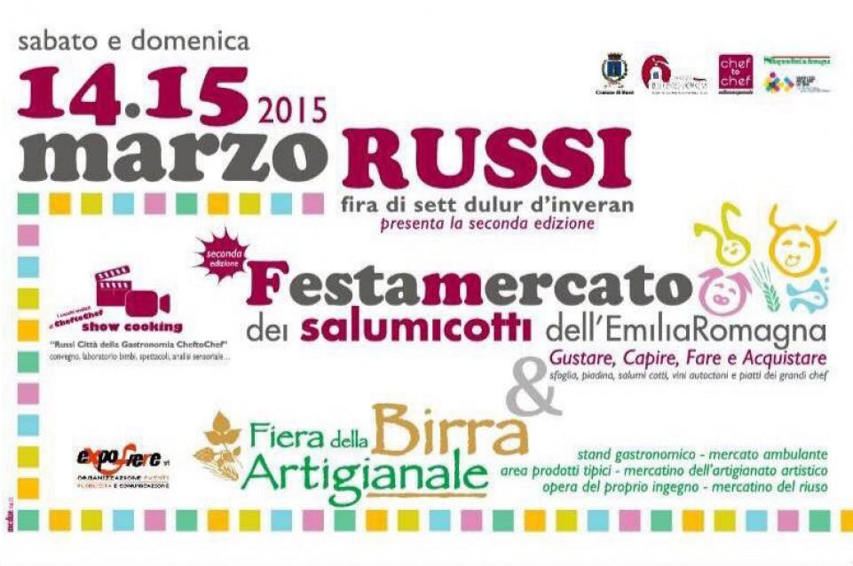 """Il 14 a 15 marzo a Russi torna la tradizionale """"Festamercato dei Salumicotti"""""""