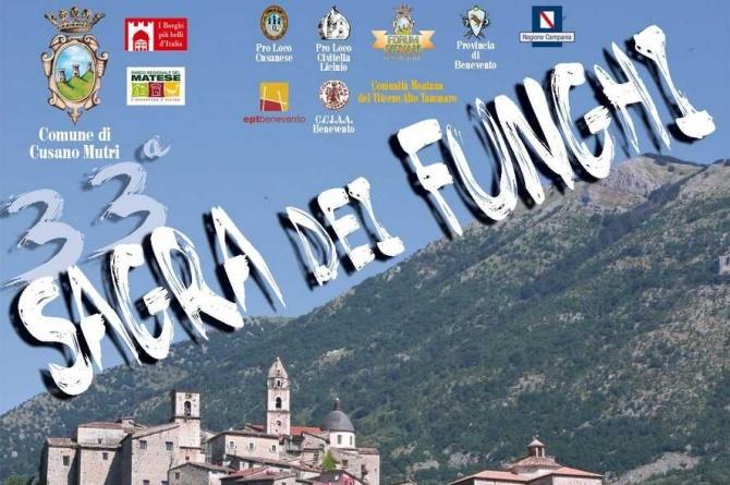 Sagra dei funghi di Cusano Mutri (Benevento)