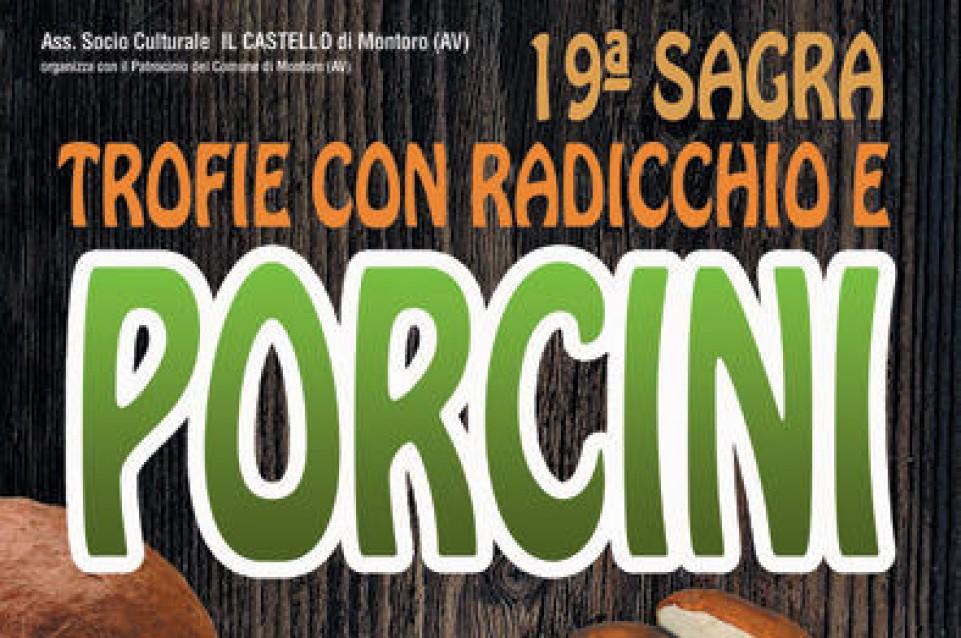 XVIII Sagra Trofie con Radicchio e Porcini: dal 23 al 25 giugno a Montoro