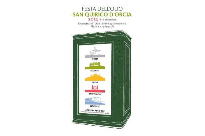"""Dal 5 all'8 dicembre a San Quirico d'Orcia la XXI edizione della """"Festa dell'Olio"""""""